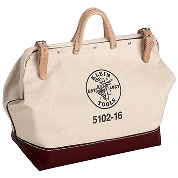 "16"" Canvas Tool Bag - 5102-16"